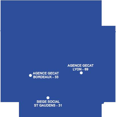 Gecat implentation en France